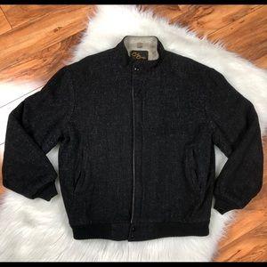 CAL CRAFT Mens XL Long Gaberdine Lined Jacket